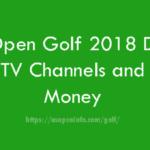 US Open Golf 2018